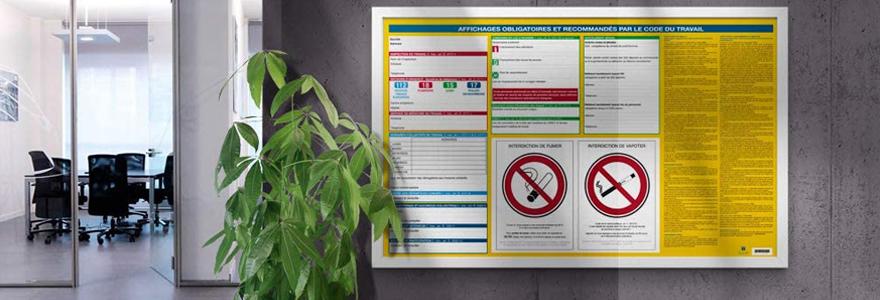 Importance des affichages obligatoires en entreprise
